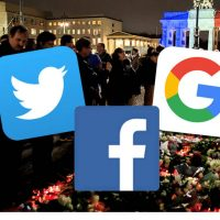 Facebook, Twitter, Google