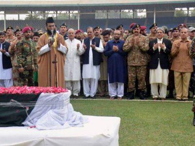 Abdul Sattar Edhi Funeral