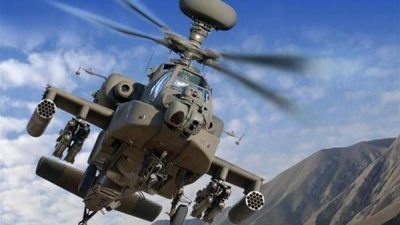 Helicopter Fall in Yemen