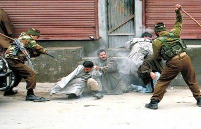 Kashmir Indian Police Terror