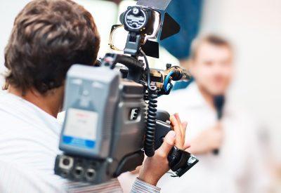 Journalists Cameraman