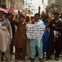 K.N.Shah, Khoso Brothery's Protest