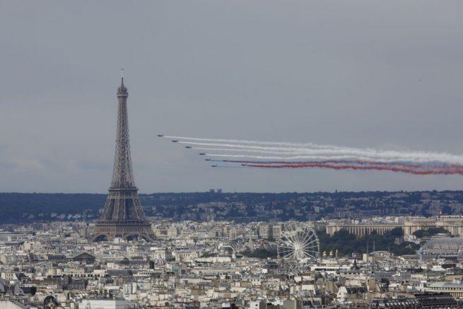Fête Nationale Française - Défilé aérien 2016