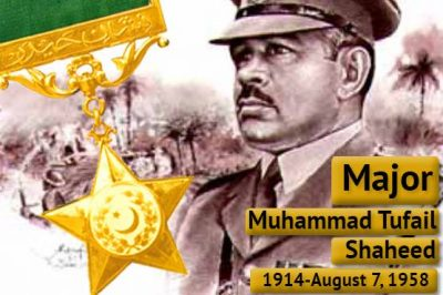Major Muhammad Tufail Shaheed