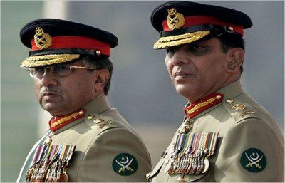 Musharraf and Ashfaq Pervaiz Kayani