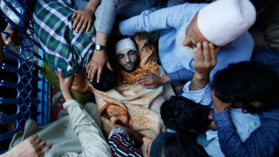 Muzaffar Burhan Wani Shaheed