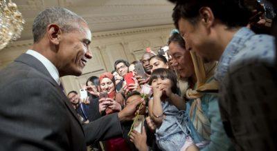 Obama Meet Muslim Community