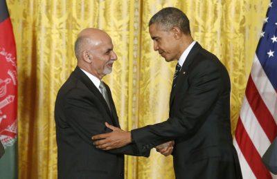 Obama and Ashraf Ghani