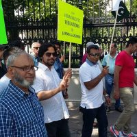 Pakistani community Vienna Kashmir Solidarity Rally