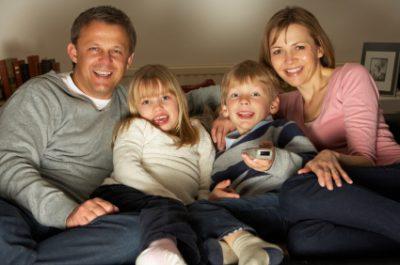 Parents Watching TV
