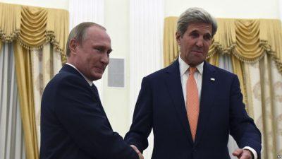 Putin and John Kerry