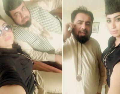 Qandeel Baloch and Mufti Abdul Qavi