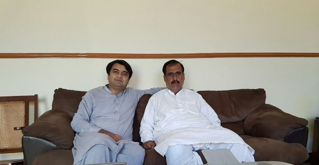 Raja Haq Nawaz and  Raja Yasir Ahmed