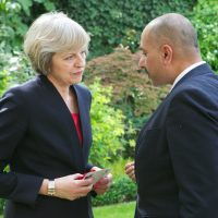Sajjad Karim and British Prime Minister