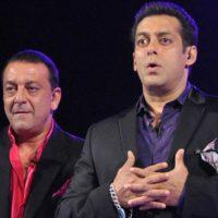 Salman Khan and Sajay Dutt