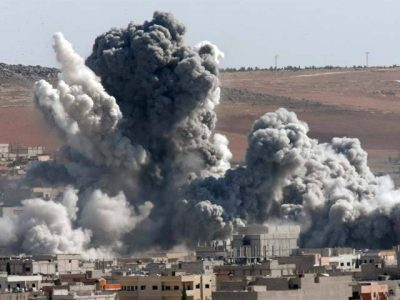 Syrian Forces Bombing