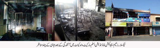 Taxila Fire