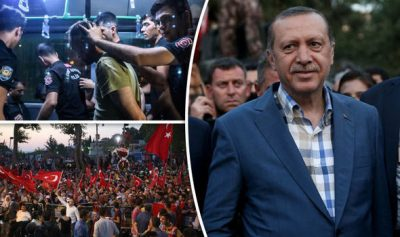 Turkish Army Rebellion
