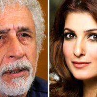 Twinkle Khanna and Naseeruddin Shah