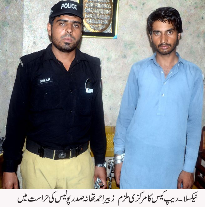 Zubair Ahmed in Police Custody