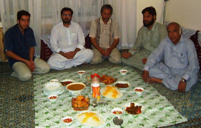 With Pir Hasnaen of Qattalpur Khanewal in Mashhad
