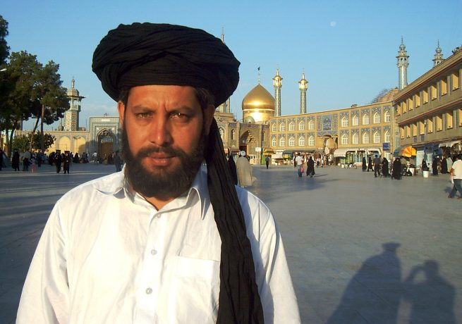 Allama Saeed ul Hasan at Qom