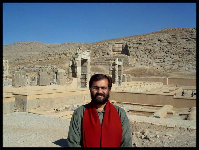 Visit to Persepolis on Thursday 23rd of November 2006 AD