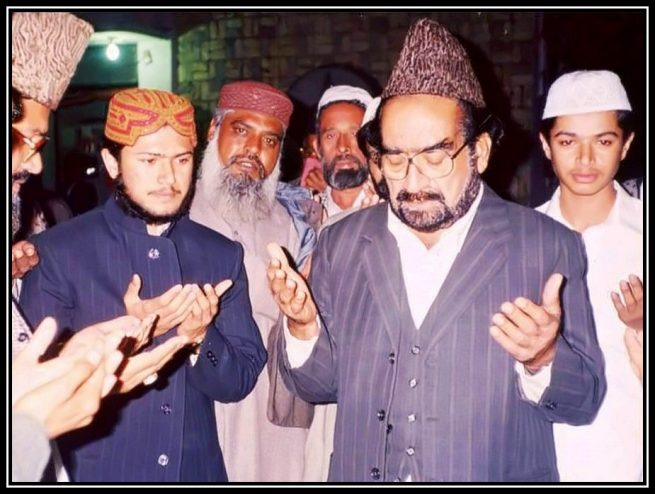 Sahibzada Ateeq Chishti With Pir Sahib Golra Shareef