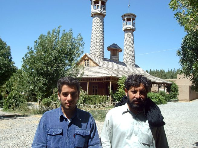 Wooden Mosque Neyshapour