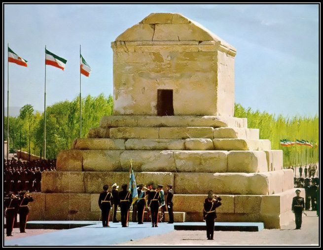 Iran's state protocol to Cyrus the Great