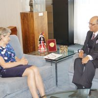Abassador with DG UNESCO