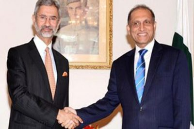 Aizaz Chaudhry Meet Indian Minister