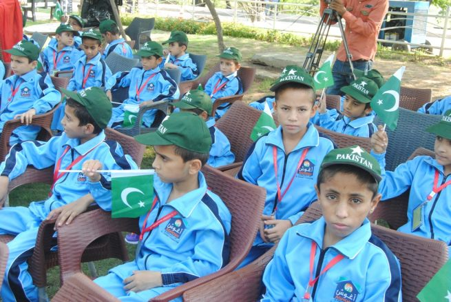 Al-Khidmat, Aghosh Home  Independence Day Ceremony