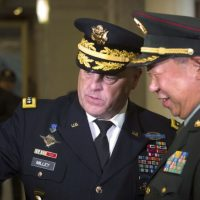 America and Chinese Army Chief