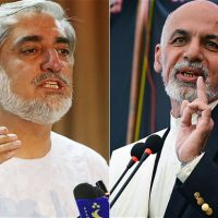 Ashraf Ghani and Abdullah Abdullah