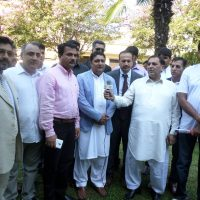 Chaudhry Ajmal With Friends