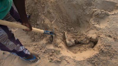 Child Buried