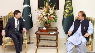 David Hale and Nawaz Sharif Meeting