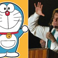 Doraemon and Imran Khan