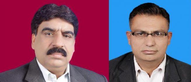 Dr Tasawar and Raja Muhammad Riaz