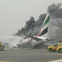 Dubai Airport Flights Emergency Landing