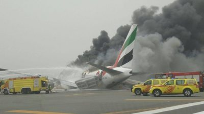 Dubai Airport Flights Emergency Landing