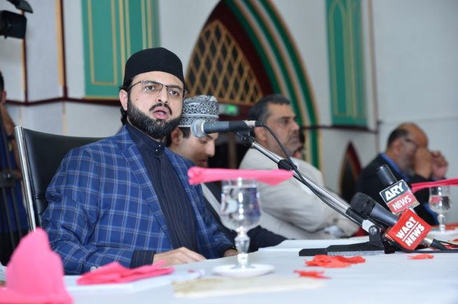 France Dr Hassan Qadri Colleagues Honors Conventions