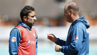 Iftikhar Ahmed and Mickey Arthur