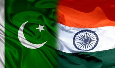 India with Pakistan