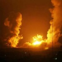 Israeli War Planes-Bombing