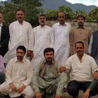 Jammu and Kashmir NAP delegation Gilgit Baltistan Tour