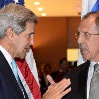 John Kerry dan Sergey Lavrov