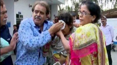 Karachi News Office  Attacked