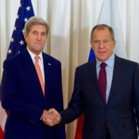 Kerry and Lavrov Meeting